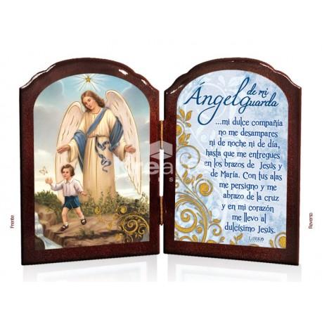 BD12 ángel de la guarda niño ORO