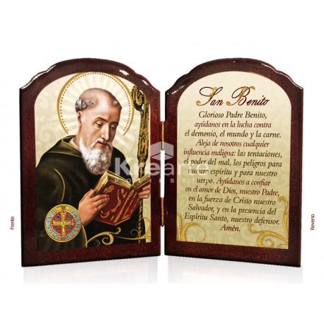 BD28HO San Benito [oración] ORO