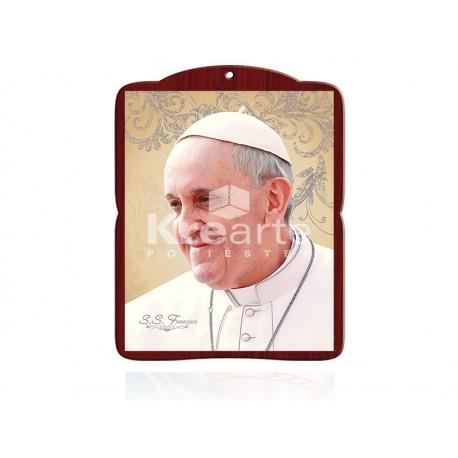 20DEL55 Papa Francisco [perfil] PLATA