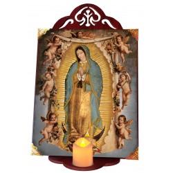 Virgen de Guadalupe ángeles