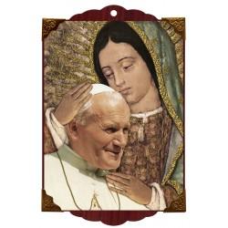 Papa con Virgen