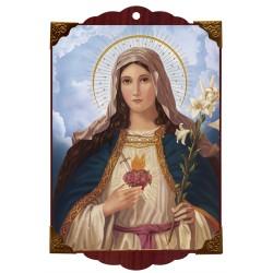 Sagrado Corazón de María flores