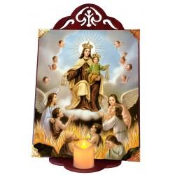 Virgen del Carmen ánimas
